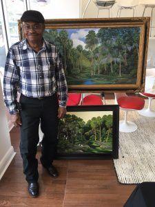 Highwaymen Art Show Curtis Arnett