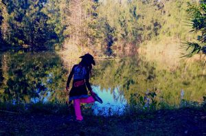 Kicking Up My Heels at Grassy Waters